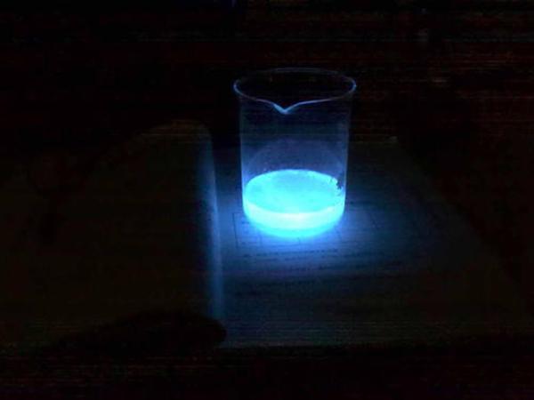 荧光反应与荧光增白剂!